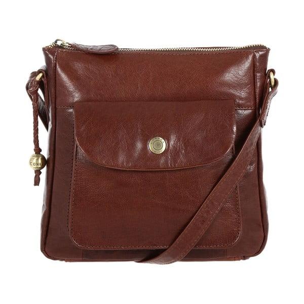 Dámska kožená taška Shirley Brown