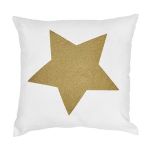 Vankúš Miss Étoile Gold Glitter Star,50x50cm