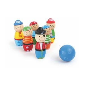 Drevený bowling Legler Pirate