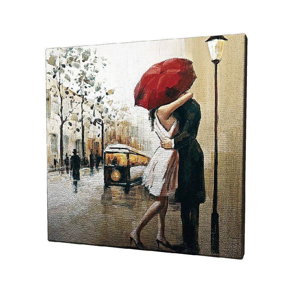 Obraz na plátne Paris, 45 × 45 cm