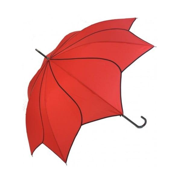 Červený dáždnik Ambiance Sunglower Red