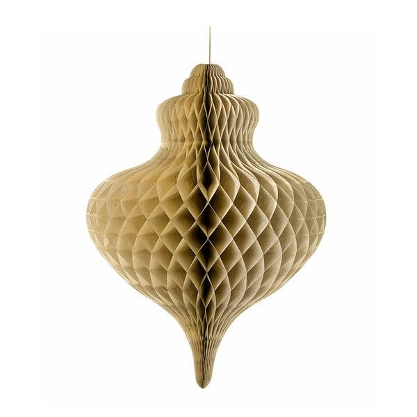 Papierová dekorácia Giant Honeycomb Gold XXL