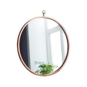 Guľaté nástenné zrkadlo Native Round, ⌀50 cm