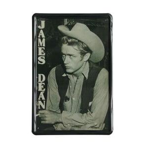 Ceduľa James Dean, 20x30 cm