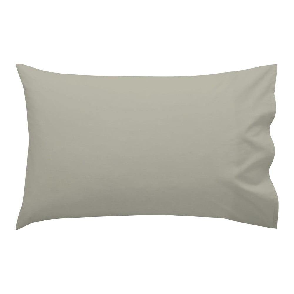 Svetlohnedá obliečka na vankúš HF Living Basic, 50 × 30 cm