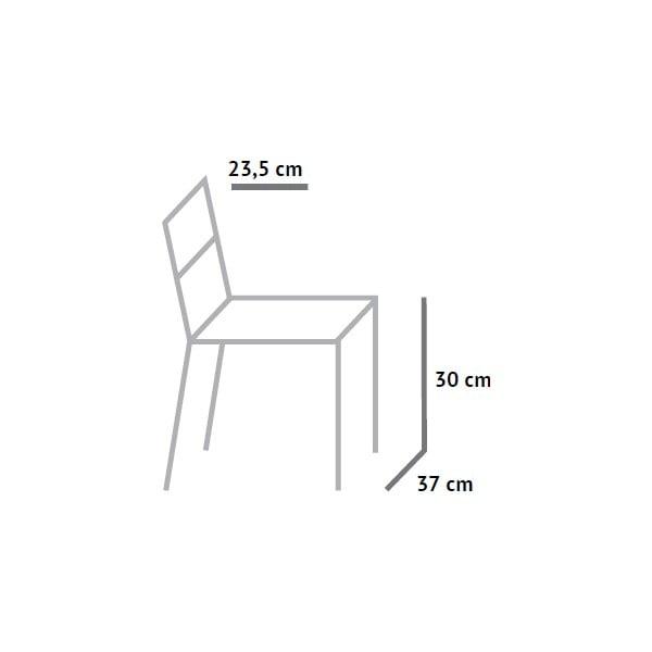 Detské stoličky Fam Faram výška sedu 30 cm