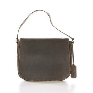 Hnedá kožená kabelka Gianni Conti Hermia