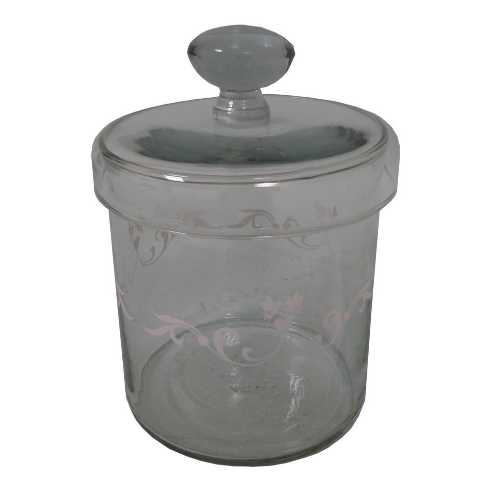 Sklenená nádoba s vekom Antic Line Glass Jar