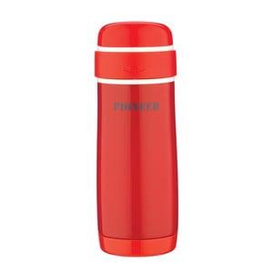 Červená cestovná fľaša Pioneer Capsule, 320 ml