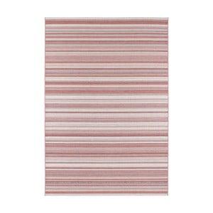 Tmavoružový koberec vhodný aj na von Elle Decor Secret Calais, 200×290 cm