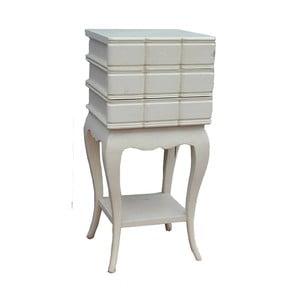 Stôl s tromi zásuvkami Vintage, 32x71x32 cm