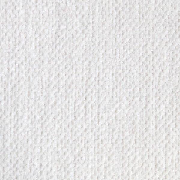 Biely sedací vankúšik s masážnymi loptičkami Linda Vrňáková Bloom, Ø75cm
