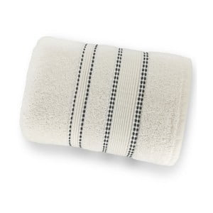 Biela osuška zo 100% bavlny Marie Lou Remix, 150 x 90 cm