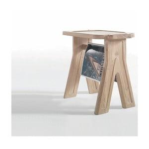 Stolička z dubového dreva Wewood - Portugues Joinery Multibanqueta