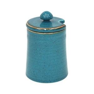 Modrá dóza z kameniny Casafina Sardegna, 150 ml