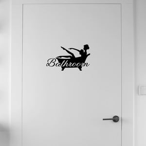 Samolepka Fanastick Bathroom