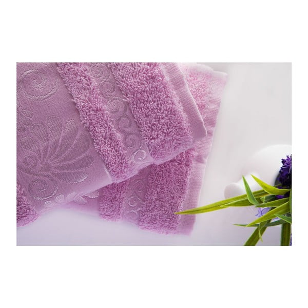 Sada 2ks uterákov Carmen Pink, 50x90 cm