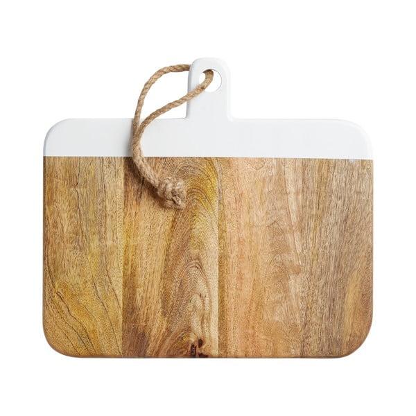 Doska na krájanie z agátového dreva Master Class, 38 cm