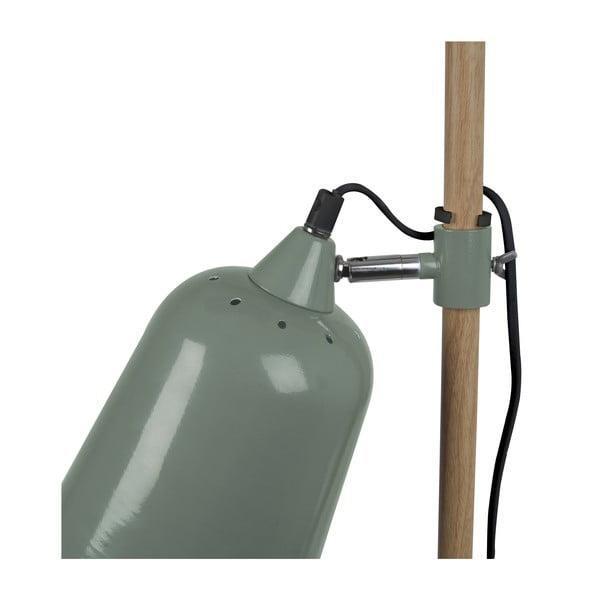 Zelená stojacia lampa Present Time ETH Wood