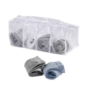 Biele sieťky na pranie ponožiek Wenko
