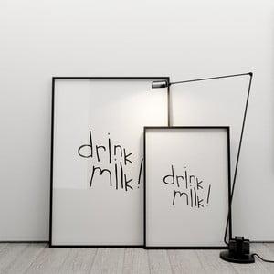 Plagát Drink milk, 50x70 cm