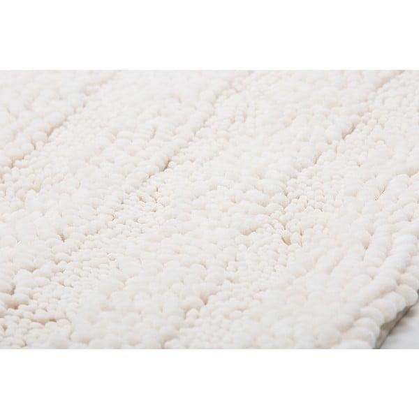 Kúpeľňová predložka Surface Cream, 65x110 cm