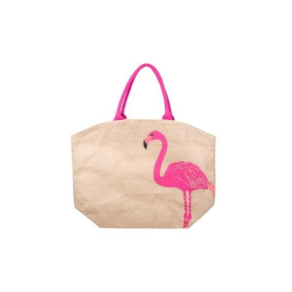 Plátená taška Flamingo