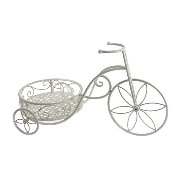 Stojan na kvety White Mini Bike