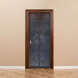 Adhezívna samolepka na dvere Ambiance Medieval Door, 83 x 204 cm