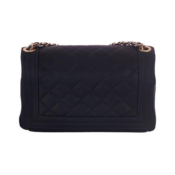 Tmavomodrá kabelka z pravej kože Andrea Cardone Debora