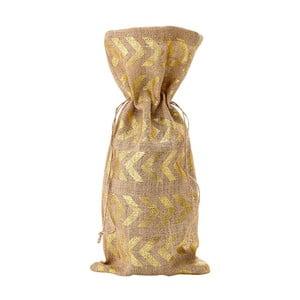 Vrecúško na víno s detailmi v zlatej farbe Ladelle Dash