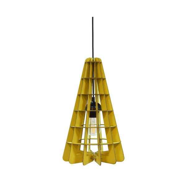 Svietidlo Conic, žltá