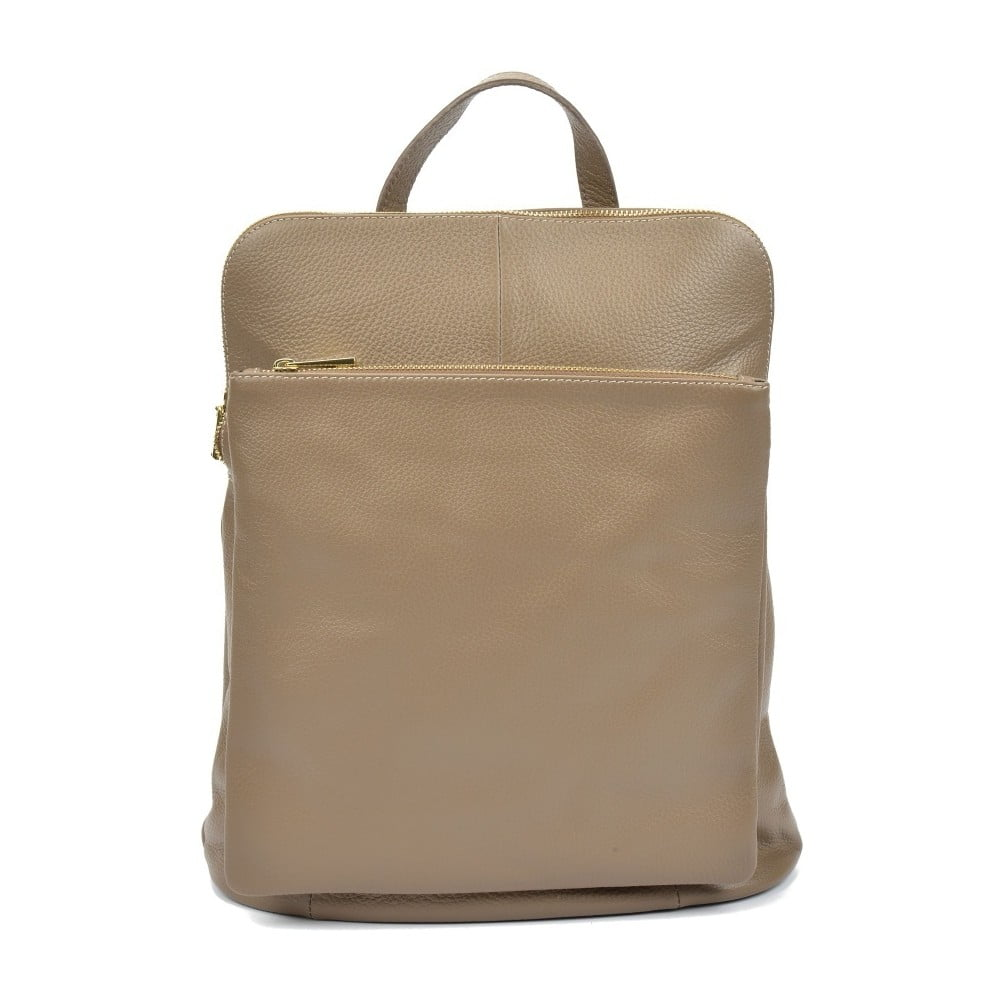 60d6fc83114 Hnedý dámsky kožený batoh Isabella Rhea Gunna Fango