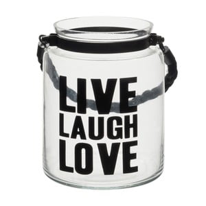Lampáš J-Line Live Laugh Love