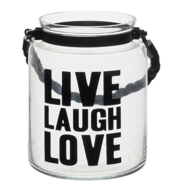 Lampáš J-Line Live Laugh Love
