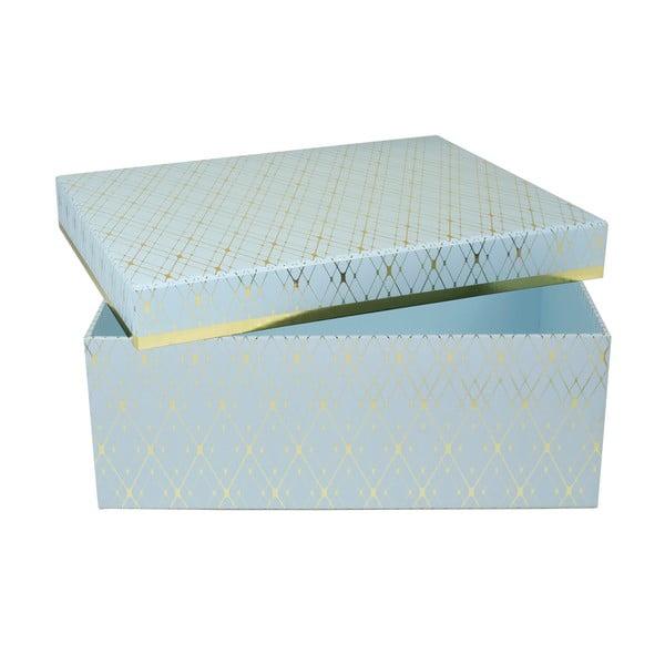 Úložná krabica Stockholm, modrá