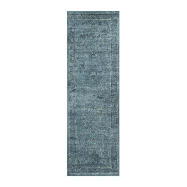 Koberec Peri Vintage Blue, 66 x 243 cm