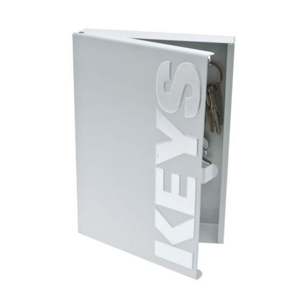 Krabička na kľúče Typographic Metal