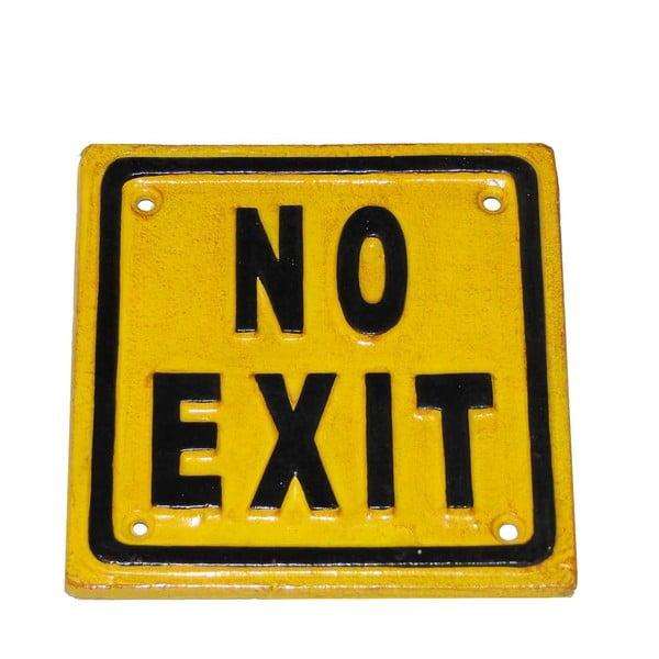 Kovová ceduľa Antic Line No Exit