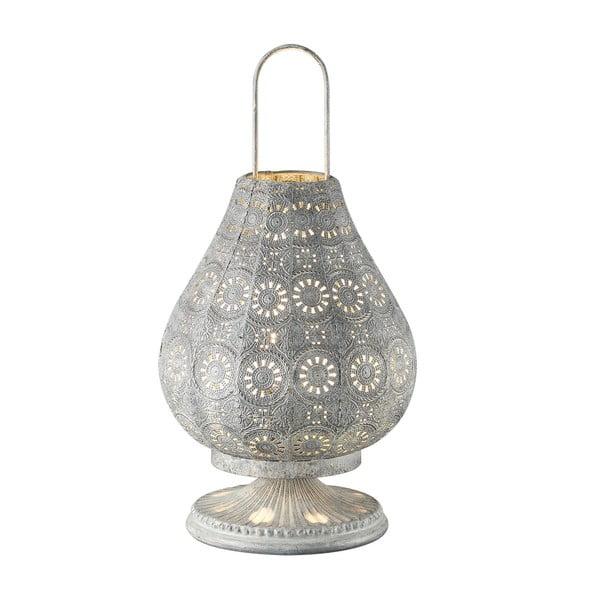 Stolová lampa Jasmin, sivá