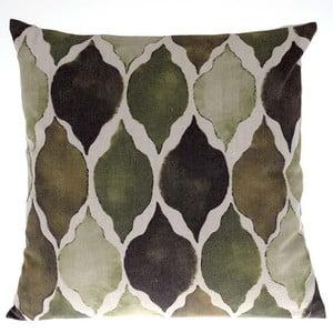 Vankúš Green and Ivory, 45x45 cm