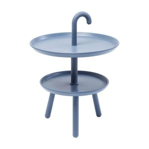 Modrý odkladací stolík vhodný do exteriéru Kare Design Jacky