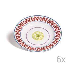 Sada 6 polievkových tanierov Toscana Pienza, 22.5 cm