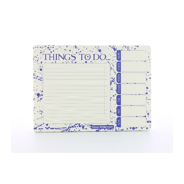 To Do listy Blueprint Collections Emma Bridgewater