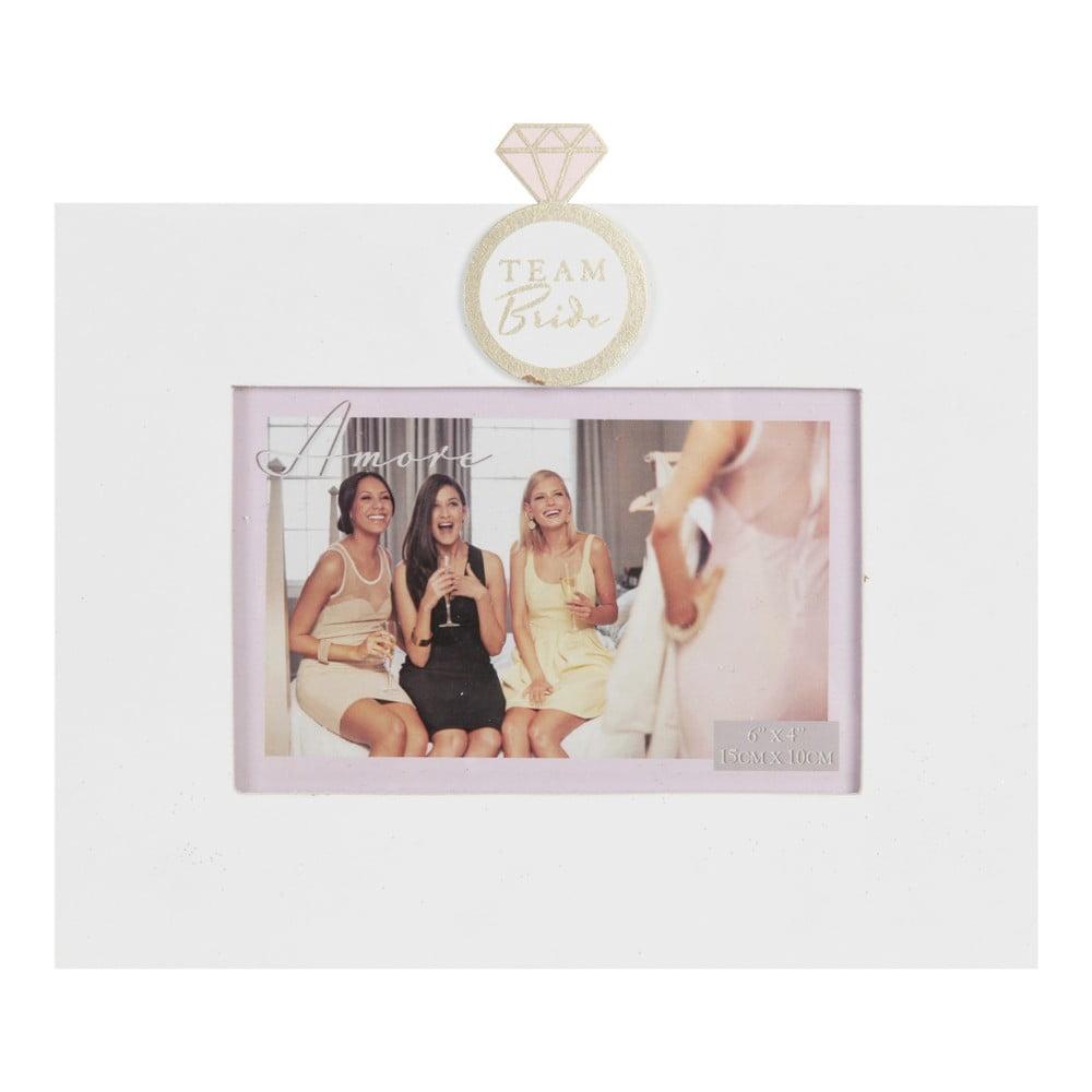 Rámik na fotografiu Amore Team Bride, na fotografiu 10 × 15 cm