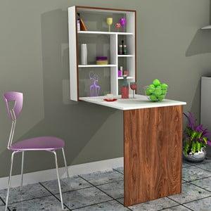 Pracovný stôl Minar Magicbox Walnut