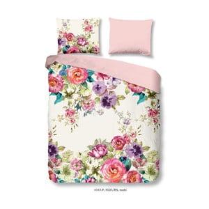 Bavlnené obliečky Good Morning Fleurs, 140×200 cm