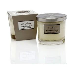 Sviečka z palmového vosku s vôňou vanilky Aromabotanical Glass, doba horenia 16hodín