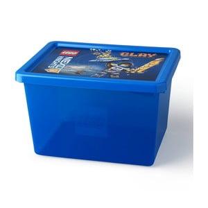 Modrý úložný box LEGO® NEXO KnightsL