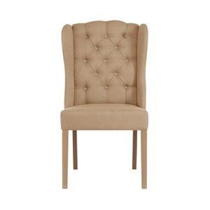Svetlohnedá jedálenská stolička Jalouse Maison Hailey